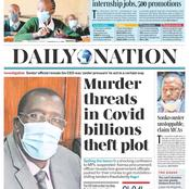 Today's Daily Nation Review Featuring How TSC Intern Slots Will Be Shared And Stipends
