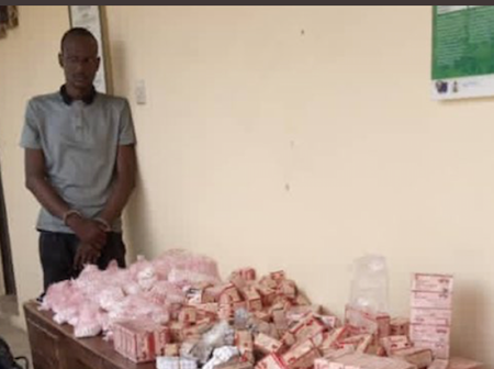 Chadian Man Who Supplies Drug To Boko Haram Apprehended.