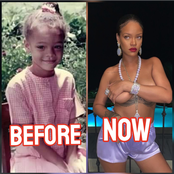 Check Out Throwback Photos Of Singer Rihanna