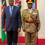 Kenya Army military ranks from the Cadet to the Chief of Defense