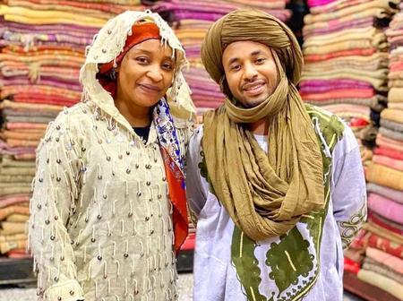 Check out Photos of a Beautiful Hausa Actress Enjoying her Life At Marocco