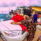 4 Nigerian Celebrities Who Bought Expensive Cars For Their Mother
