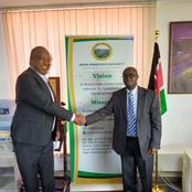 Amos Nyaribo Meets KURA Director Nyamira Municipality, Keroka and Nyansiongo to Benefit