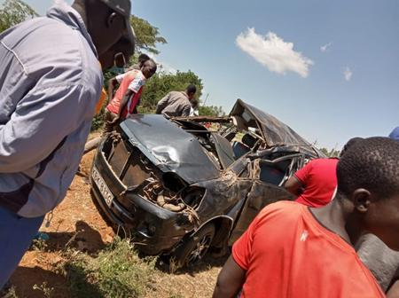 Sad Day As 4 People Die In A Grisly Road Accident, 3 Others Seriously Injured