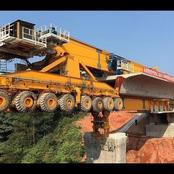 Photos Of China's Monster Bridge Building Machine