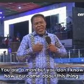 YouTube suspends Prophet TB Joshua's TV over alleged hate speech, see reactions