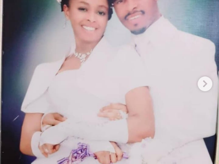 See pictures of Prophet Odumeje and his wife during their wedding