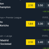Today's Games Sure Bets to Stake on