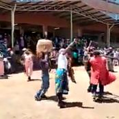 Chaos Erupts in Karatina As Crowds Chanting Ruto's Names Chases Away Mp Ngunjiri Wambugu(Video)