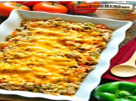 If You Are Looking To Eat More Tasty Food, Then Try This Homemade Spicy Rice Casserole