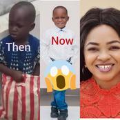 Actress Funmi Awelewa Adopted Son, Taju Has Changed Remarkably (See photos)