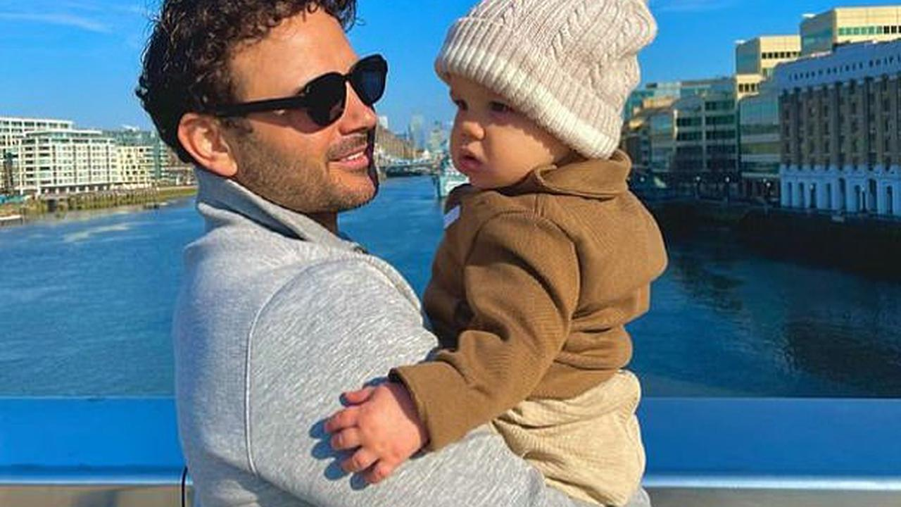 'Bringing a newborn into the world was a distraction': Ryan Thomas says his son Roman has 'driven him to keep going' after his friend's suicide and his dad's death