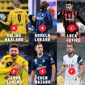 If You Could Pick Any 2 Attacking Players From These 6, Who Will It Be?