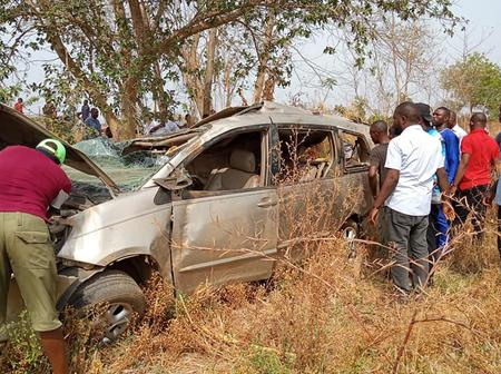 Ghastly Motor Accident Occurs Around Makurdi - Gboko Road, Several Passengers injured