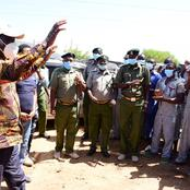 Prisoners Celebrate as Raila Visits Manyani Maximum Prison Where he was Detained for Years