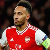 See Tattoo Aubameyang Drew To Express His Disappointment Over What Is Happening In Nigeria (Photos)