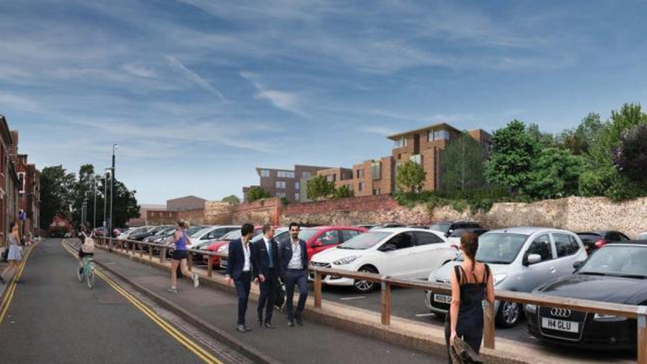 'Ramp linking student flats with car park will damage historic town wall'