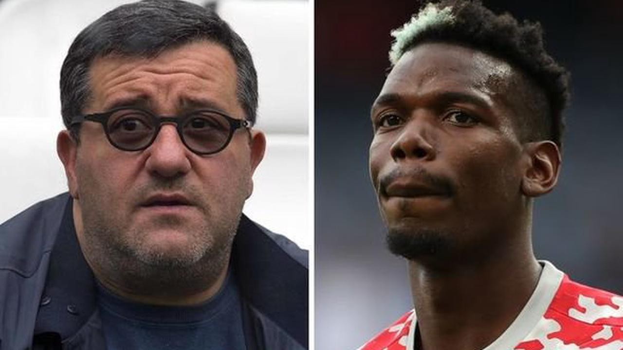 Mino Raiola makes Paul Pogba to Juventus claim amid Man Utd contract talks - 'We'll see'