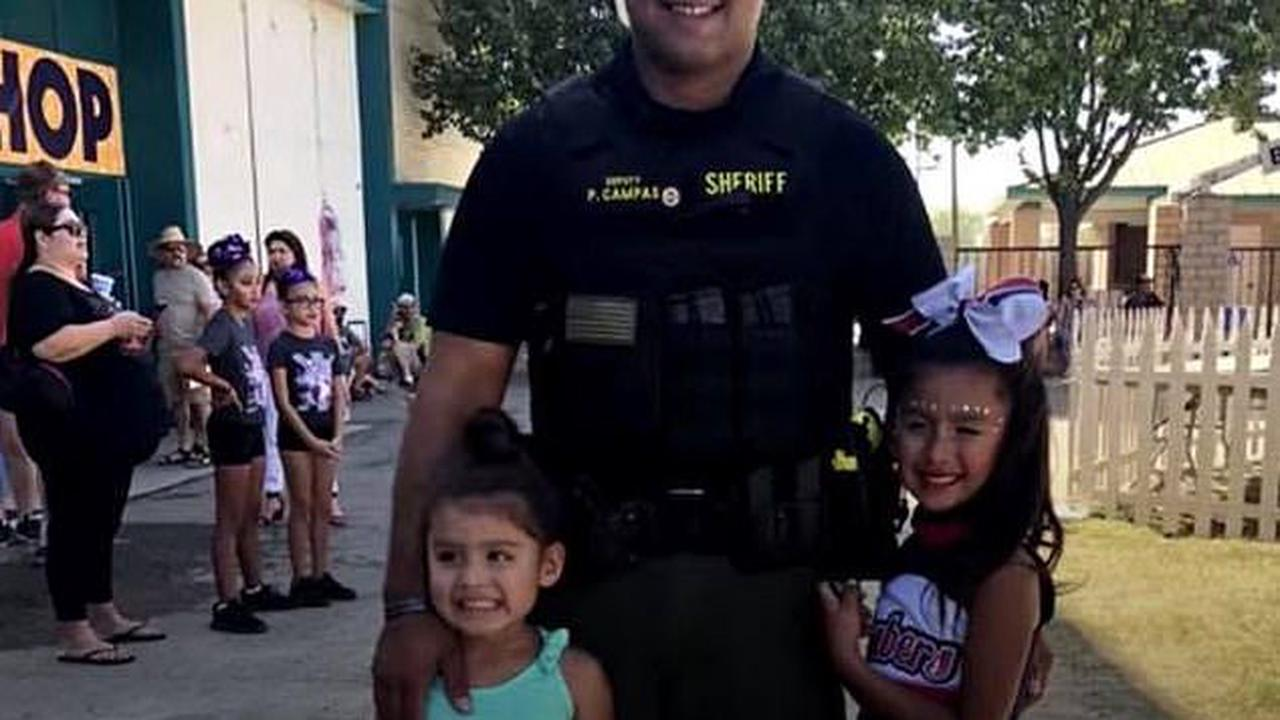 California man is shot dead by police after barricading himself in building and fatally shooting his two sons, their mother and a sheriff's deputy in hours-long standoff