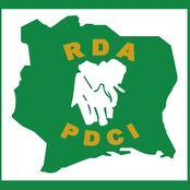 Législatives 2021: des affiches d'un candidat PDCI encore déchirées