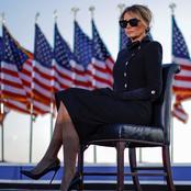 فى آخر يوم لها بالبيت الأبيض.. ميلانيا ترامب ترتدى بدلة سوداء بسعر خيالى