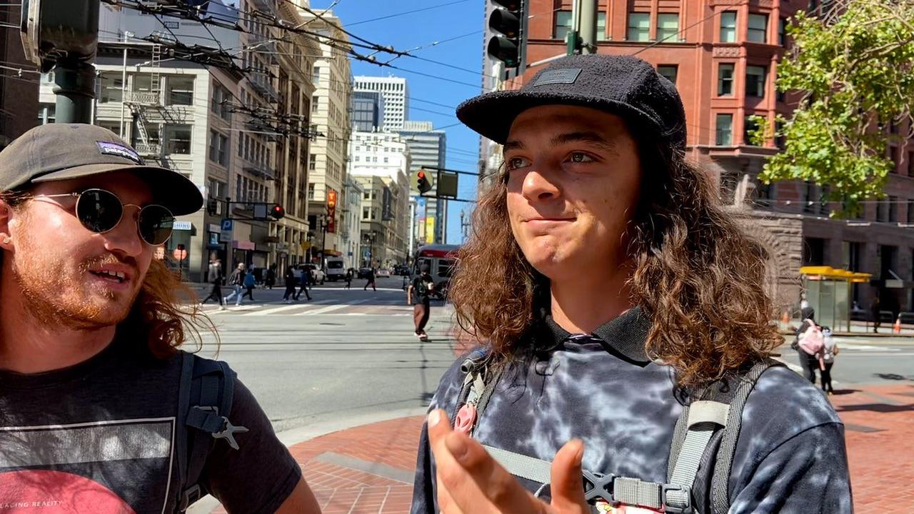 California Gov. Gavin Newsom gets graded by San Francisco residents