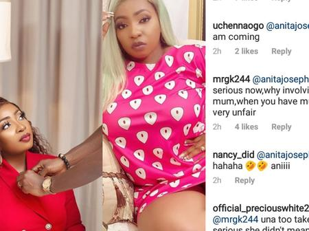 Actress Anita Joseph Fights Dirty With Fans On Instagram