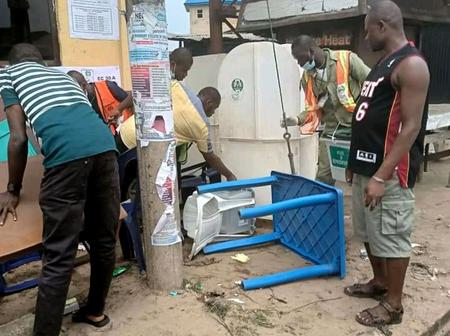 INEC Official Shares Her Experience During The Abia Bye-Election, Says Her Mother's Prayer Saved Her