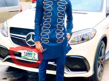 Money Is Good, See What Is Written On Samuel Chukwueze's Car