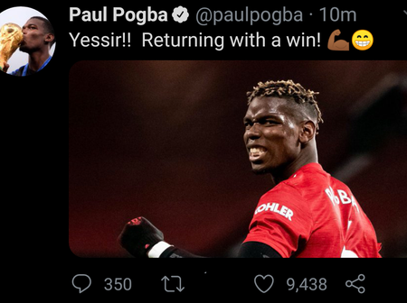 Pogba, Greenwood, Wan-Bissaka & Others Reacts Over United's Win, Check Out What They Said