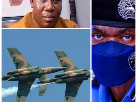 Today's Headlines: Missing Air Force Alpha Jet Found, Igboho Dares IGP Over Invitation