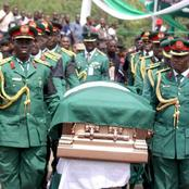 9 Years After The Death Of Ojukwu-See Throwback Photos Of His Funeral, Final Resting Place And Statue