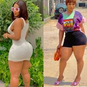 Photos Of Princess Chidimma Causes Massive Stir With Her Curvy Backside On The Internet