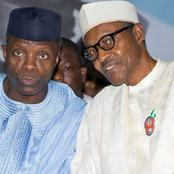 VP. Yemi Osinbajo Is 64th Years-Old Today, See How President Muhammadu Congratulate Him