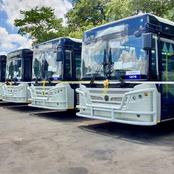 Breaking news: President Mnangagwa bought 212 buses to transport Zimbabweans with immediate effect
