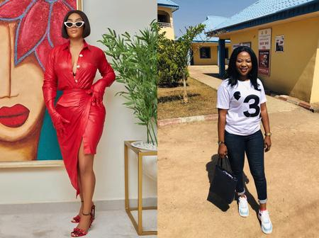 Toke Makinwa Fufills The Promise She Made To Fan Who Begged Her For Clothes On Social Media