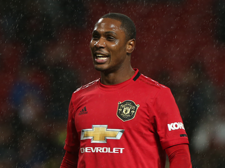 Odion Ighalo of Manchester United fate's decided at the club.