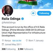 Opera Exclusive: Raila Odinga's Twitter Has Changed- And we Know who is Behind it All