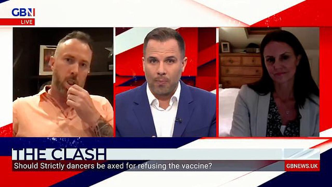 James Jordan clashes with GB News guest over divisive Strictly vaccine row