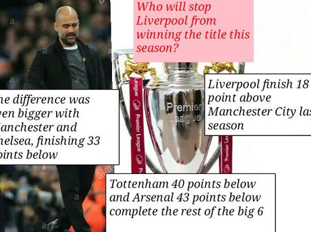 Opinion: Man City may not challenge Liverpool for the EPL title unless they fix this two problems