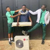 The Benefit Boys want to install Air conditioner in classroom
