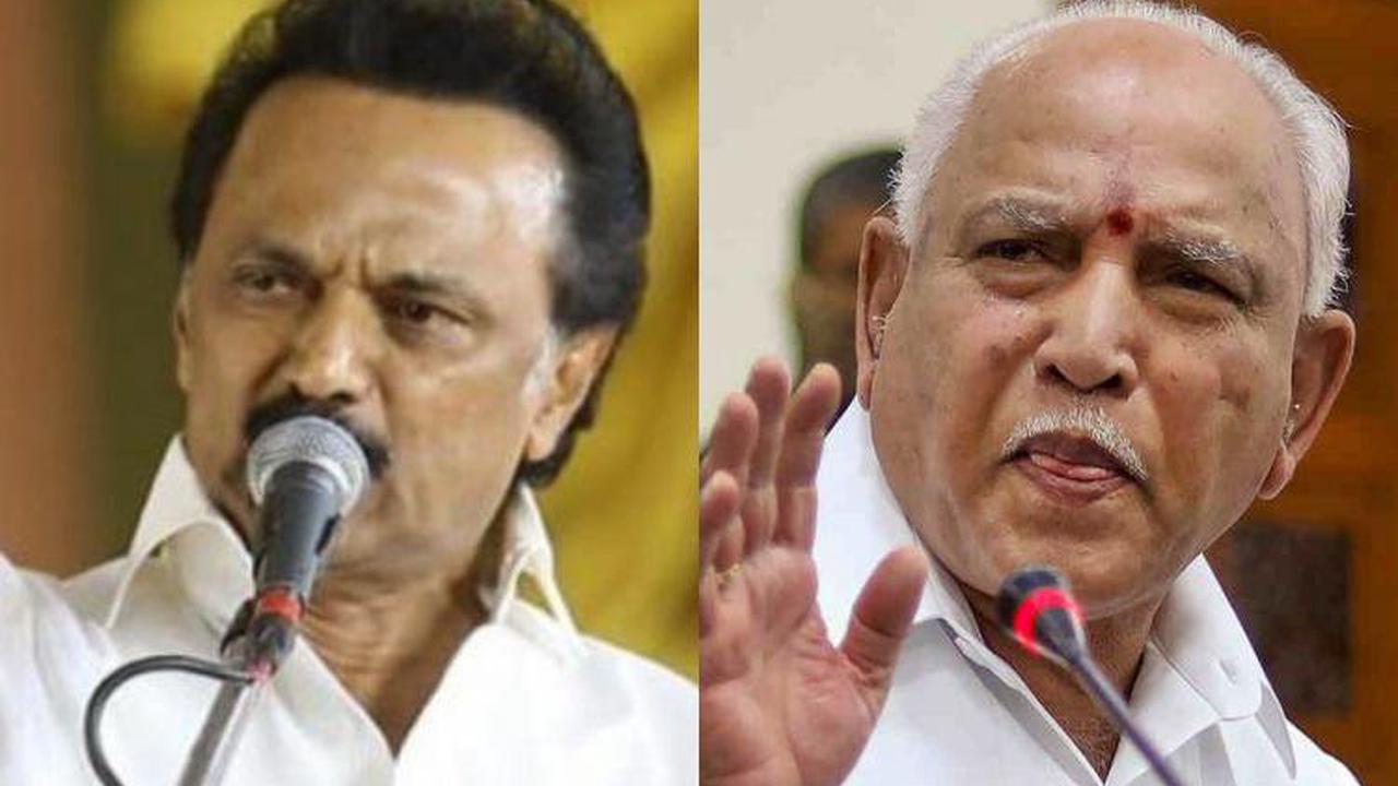 TN CM Stalin writes to Yediyurappa, urges Karnataka not to pursue Mekedatu project