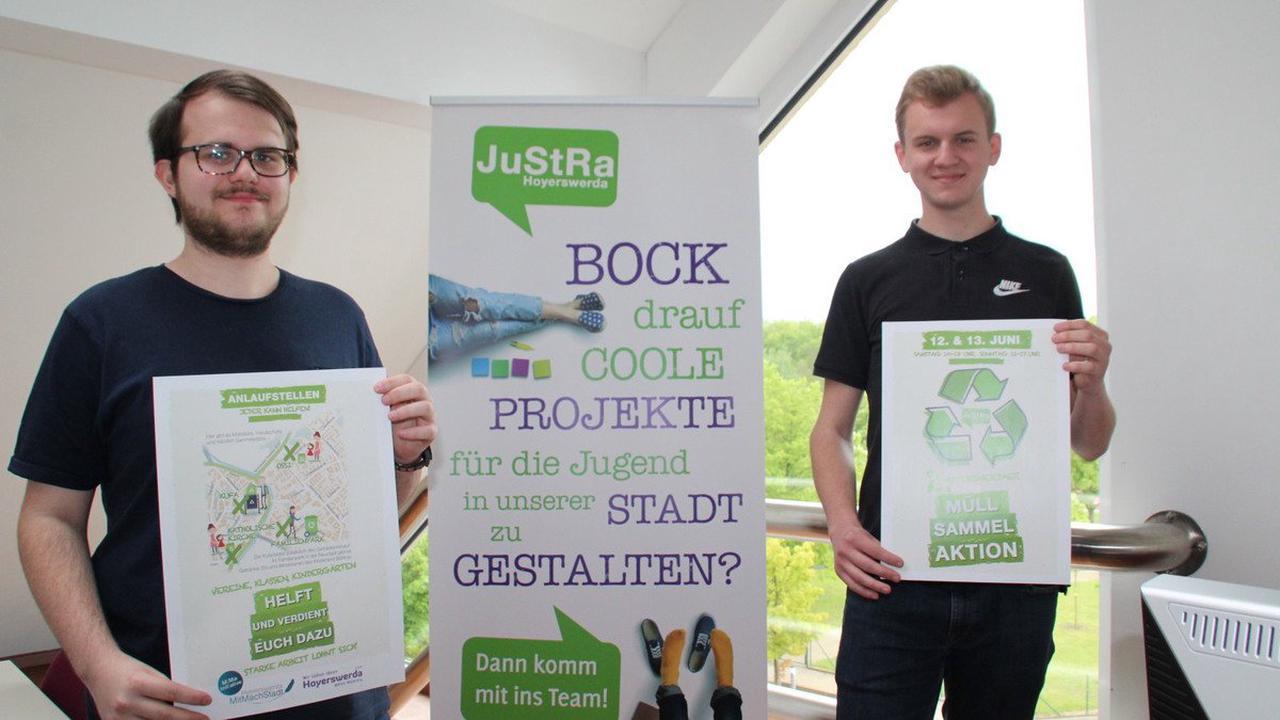 Für eine saubere Stadt: Wie Jugendliche in Hoyerswerda ihre Stadt aufräumen wollen