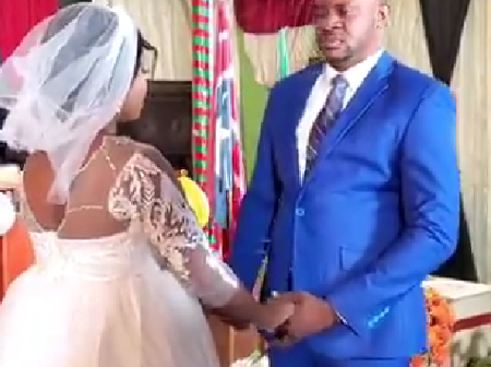 Muyiwa Ademola and others reacted as Odunlade Adekola refused to kiss his bride in a movie