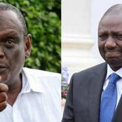 Murathe After Ruto's Neck