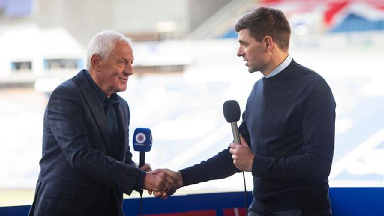 Rangers boss Steven Gerrard vows to catch-up with Walter Smith for title picture