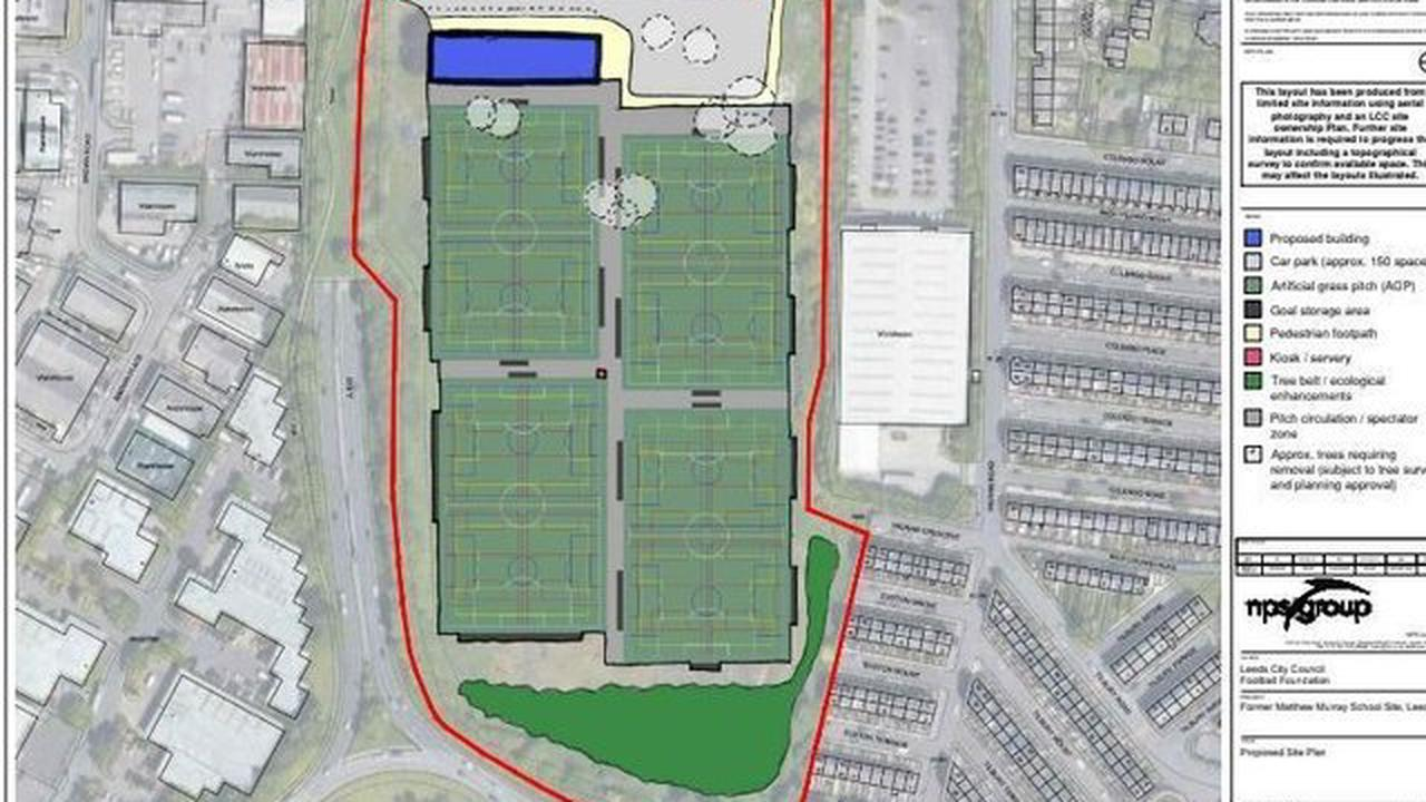 Plans approved for Parklife at Matthew Murray site, but spell the end for Leeds United Matthew Murray training ground plans