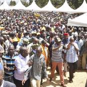 Photos Of Ruto's Tour In Trans Nzoia  County