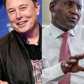Dangote And Elon Musk Trends On Twitter, See Why [Screenshots]