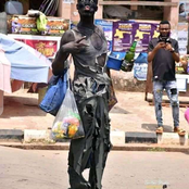 Reactions As Photos Of Student Dressed Like A Mad Man During Rag Day Went Viral